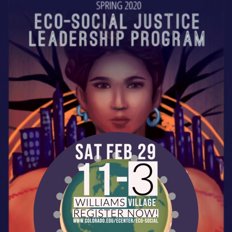 Eco-Social Justice Leadership Program flyer