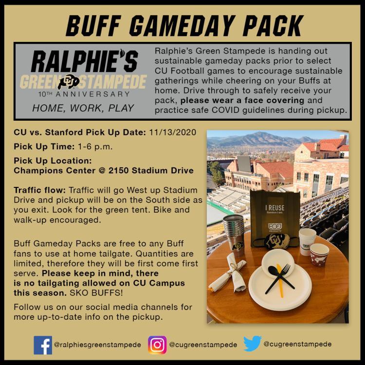 Gameday Pack Flyer