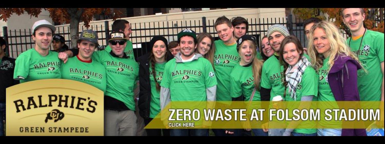 Zero Waste at Foldom Stadium