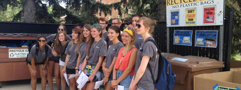 Eco Rep student staff