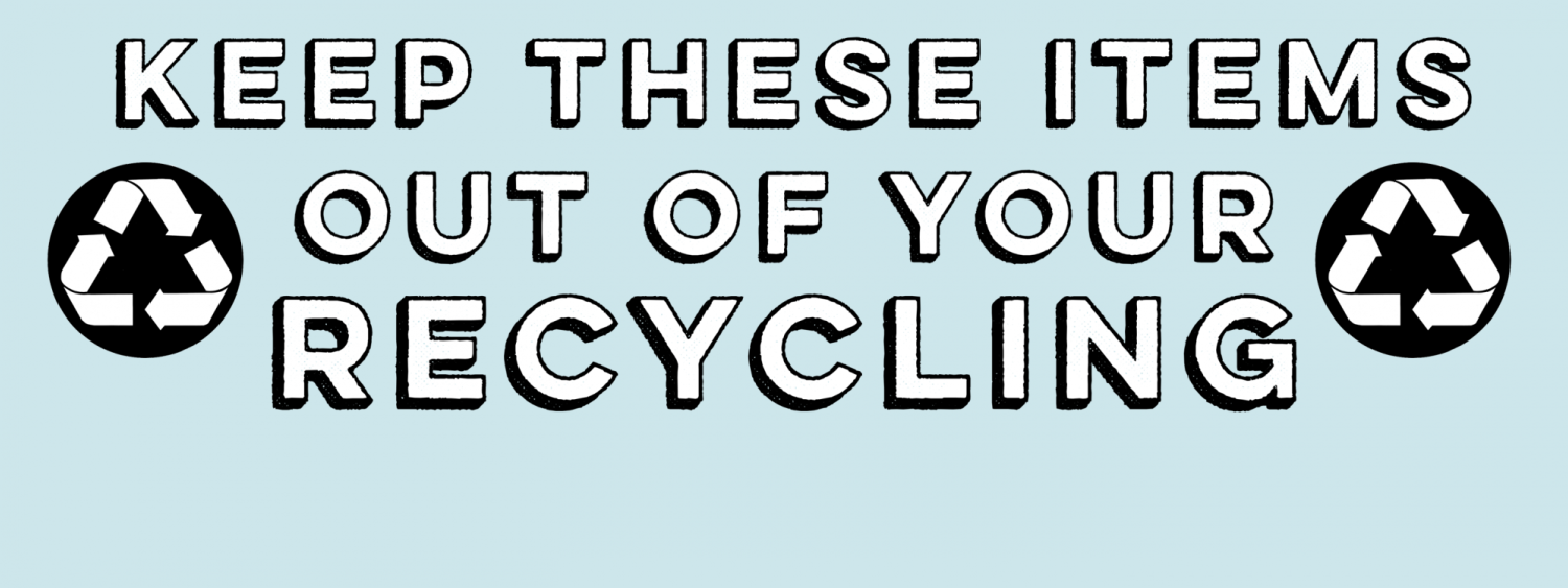 Keep these items out of your recycling