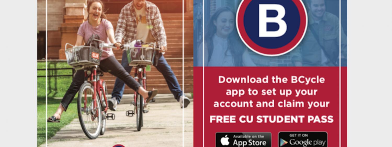 Boulder B Cycle free membership promo