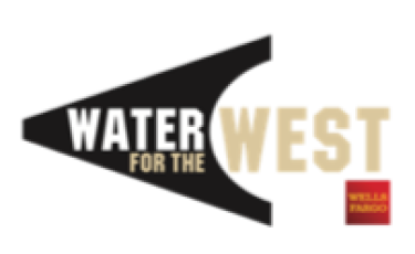 Water for the West and Wells Fargo logo