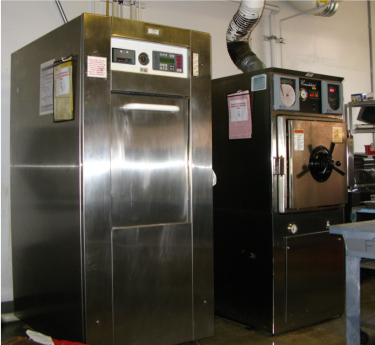 picture of two autoclaves