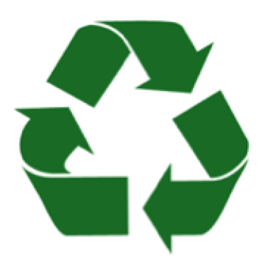 green 3 arrow recycling symbol