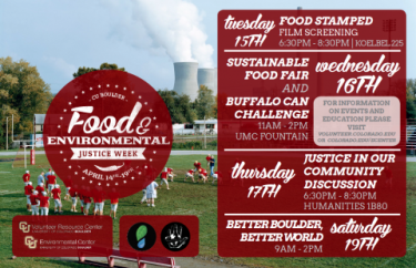 Past Food and Environmental Justice Week poster