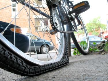 Flat Tire Image