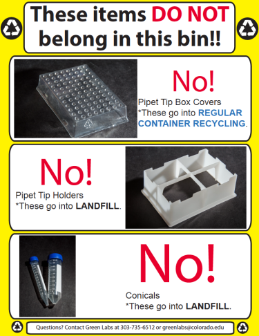not allowed in pipette tip box recycling