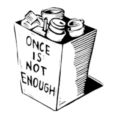 """""""once is not enough"""" photo"""