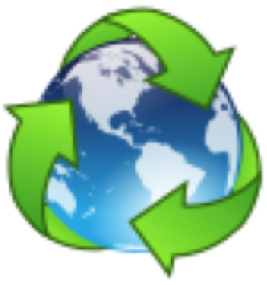 animation of Earth with 3 green arrows circling the planet