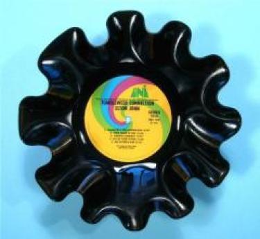 record vinyl bowl