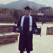 Alex Opipari CU Graduation