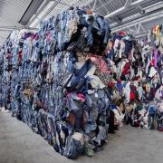 Stacks of clothes