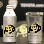 aluminum CU Buff cup and bottle