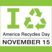 America Recycles Day November 15