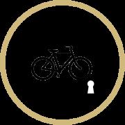 secure bike shelter logo