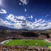 Folsom field during game day