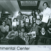 an historic photo of Environmental Center staff