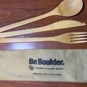 Bamboo Utensil Kit - Go Buffs