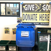 Move Out Donation Station