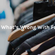Whats wrong with fast fashion