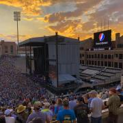 Folsom Field during the Dead & Company Concert