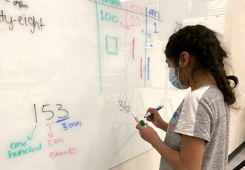 math white board