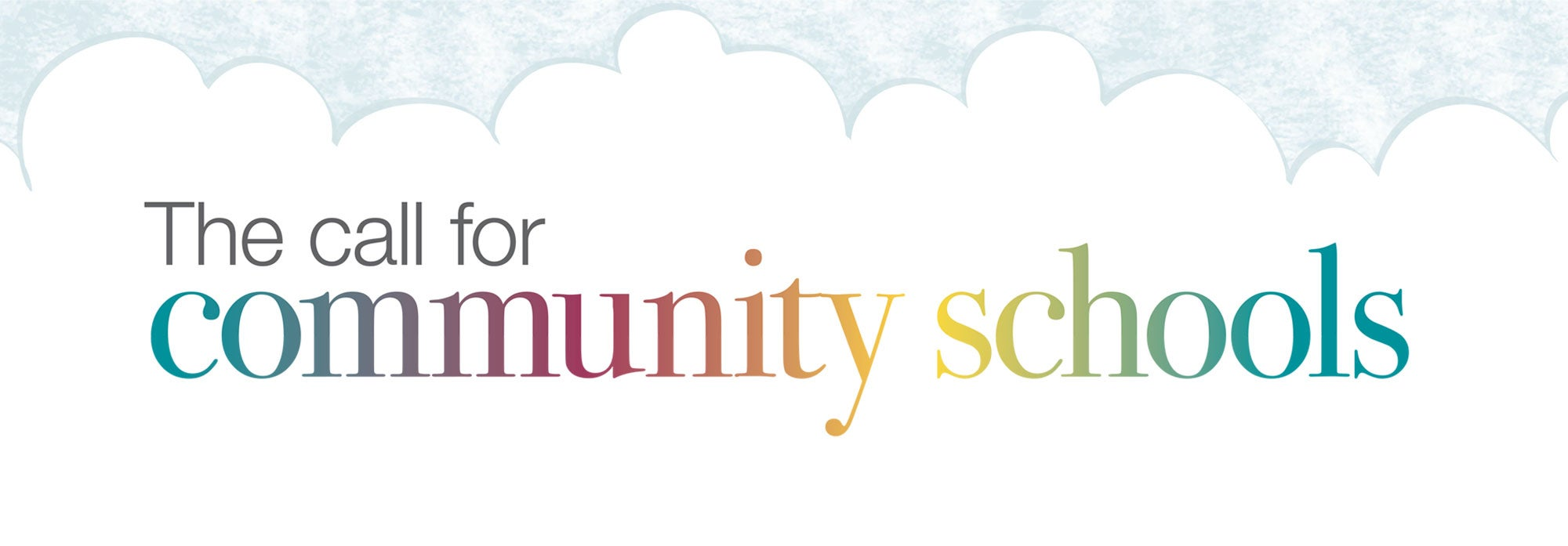 call for community schools