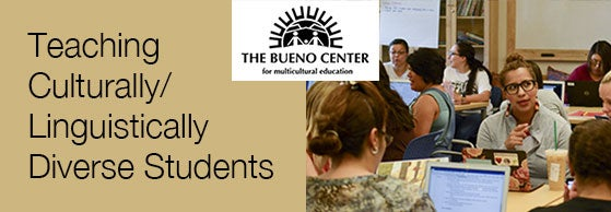 Teaching Culturally/Linguistically Diverse Students