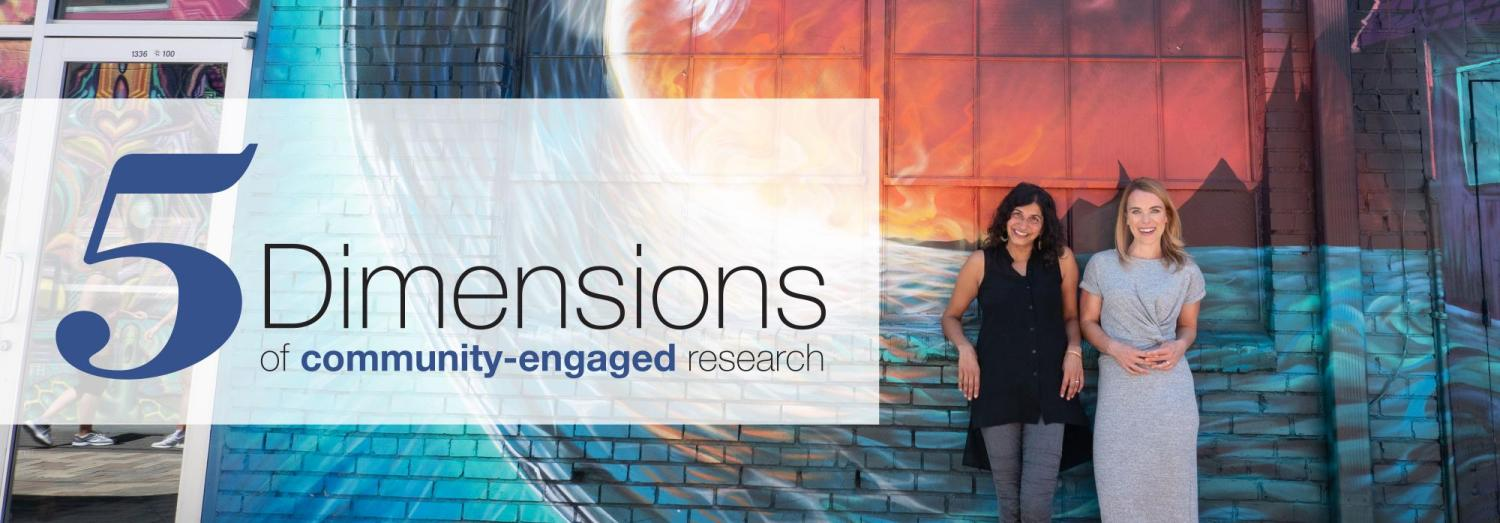 5 dimensions banner