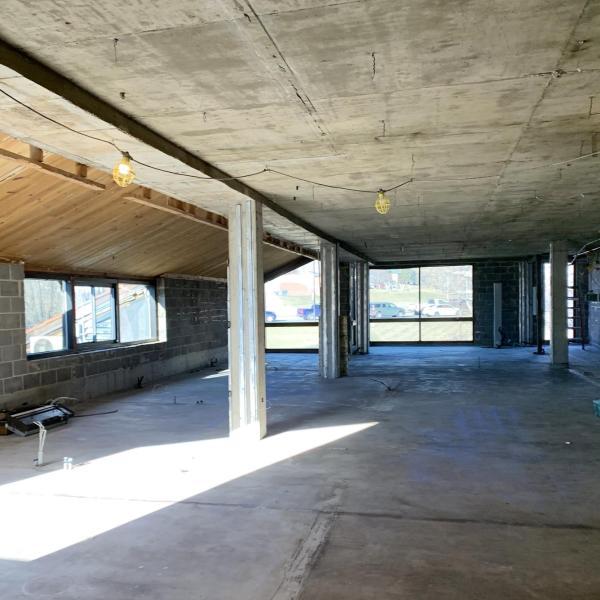 Second Floor facing west