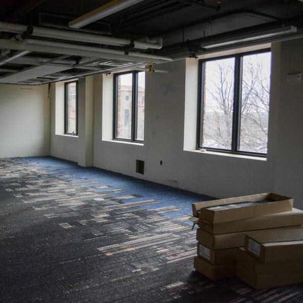 Fleming building renovation