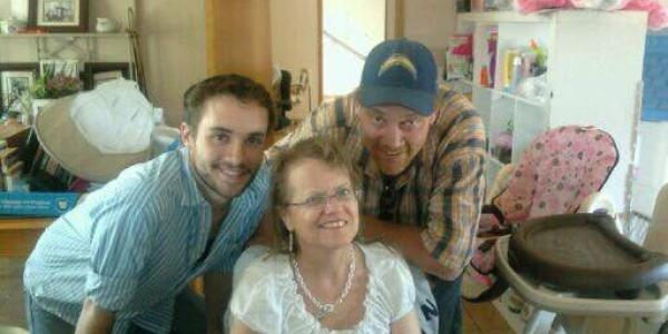 Tyler and parents