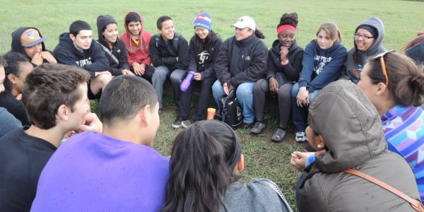 Leadership program circle