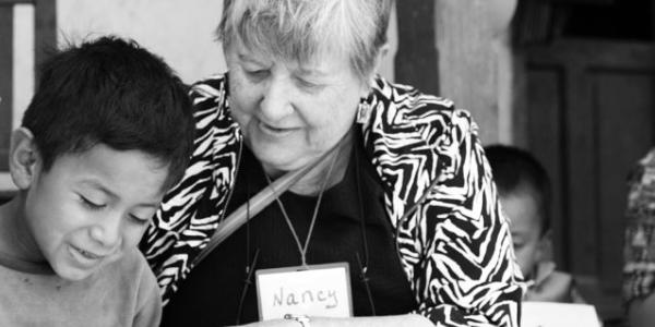 Nancy Kellogg teaching