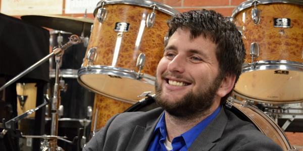 Music education alumnus Ben Pollack