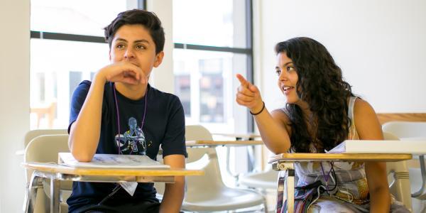 Ann Contreras in Classroom