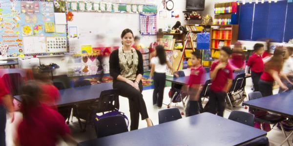 Adriana Alvarez teaching