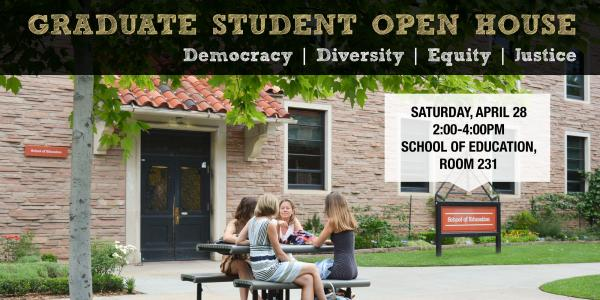 Graduate Open House April 28