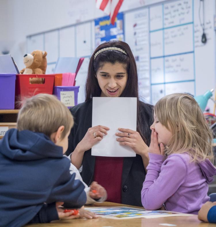 Anisah teaching