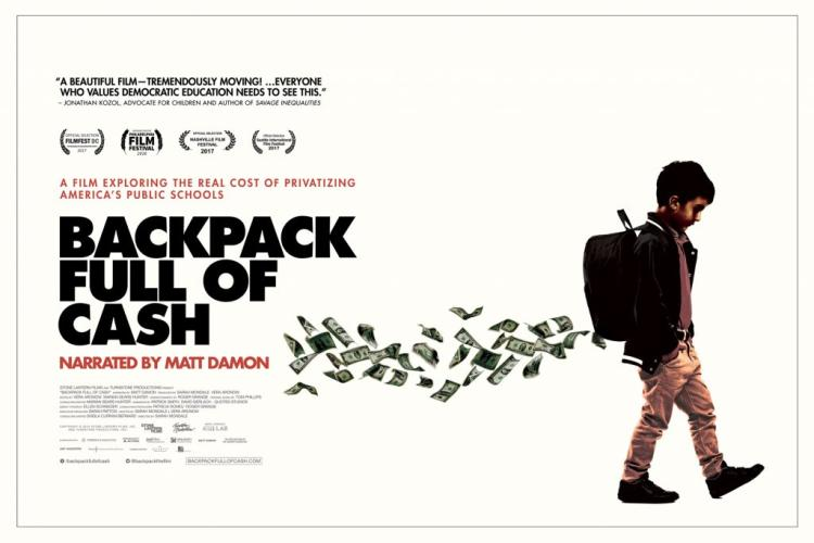 Backpack Full of Cash poster