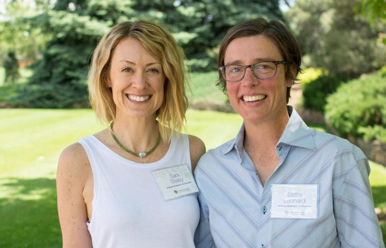 Sara Staley and Bethy Leonardi