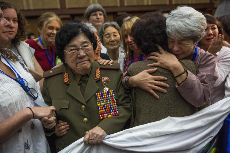 Women Cross DMZ March