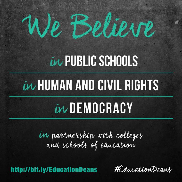 Education deans declaration