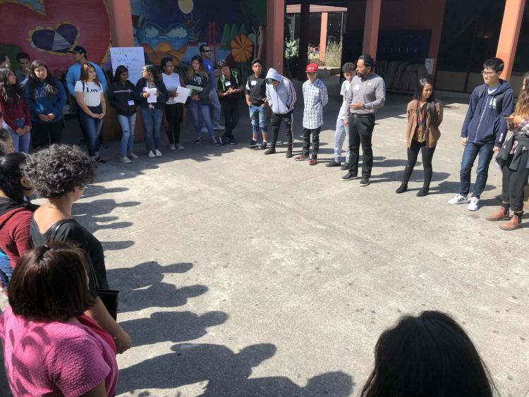 Oakland school circle