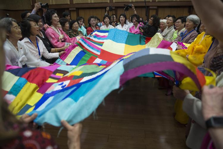 Women's Peace Symposium in Pyongyang