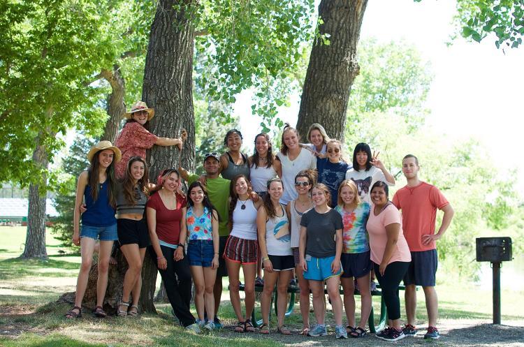 Group photo of INVST Community Studies student gathering