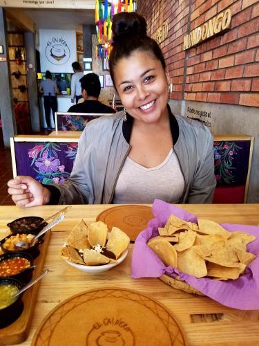 Monica and salsa