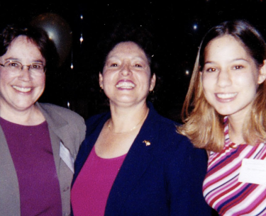 Ofelia Miramontes, Sharon Vieyra, and Paty Abril-Gonzalez