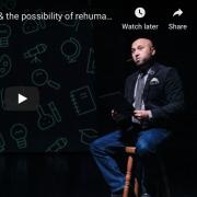 Enrique Lopez presenting Ed Talks